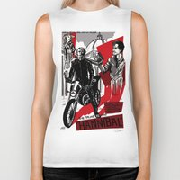 hannibal Biker Tanks featuring Hannibal! by Ginger Breo