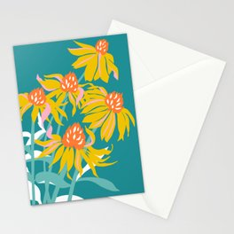 Flower Market Los Angeles Stationery Cards