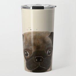 little pug Travel Mug