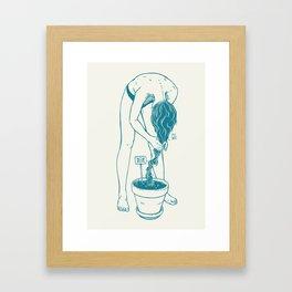 Full Grown Framed Art Print