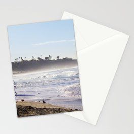 Lifeguard Tower on the Beach Stationery Cards