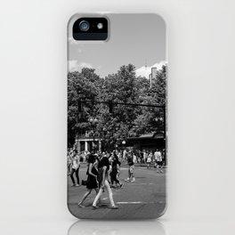 Harvard Square iPhone Case