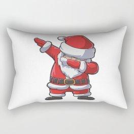 Dabbing Santa Rectangular Pillow
