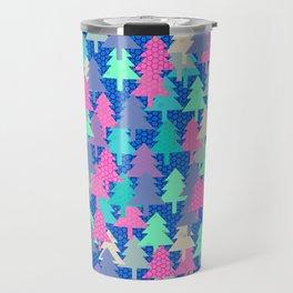 Colorful fir pattern II Travel Mug