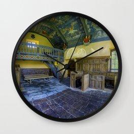 Church Of Angels Wall Clock