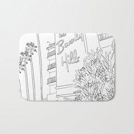 The Beverly Hills Hotel Bath Mat
