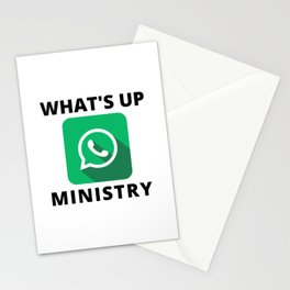 WHAT'S UP MINISTRY Stationery Cards