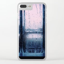Sunset in Brooklyn Clear iPhone Case