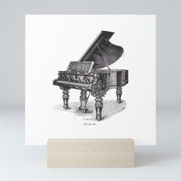 Kimball Piano 02 Mini Art Print