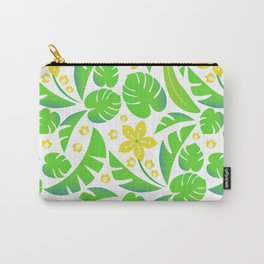 PERROQUET FLOWERS Carry-All Pouch