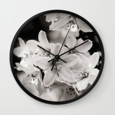 Little Whites ~ No.2 Wall Clock