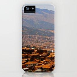 Above Cusco iPhone Case
