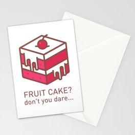 Fruitcake Sweaters Funny Lame Christmas Gift Meme Stationery Cards
