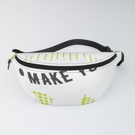 Billiards Make Your Day Pool Shark Billiards Player Fanny Pack