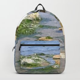 A Heron by the sea Backpack