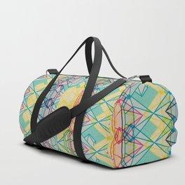 Diamonds CMYK Duffle Bag