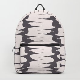 Vertical pastel texture Backpack