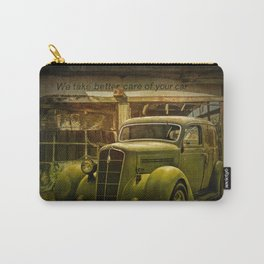 Service Station Automobile Car Care Carry-All Pouch
