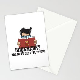 Bookmark You Mean Quitter Strip Gift Stationery Cards