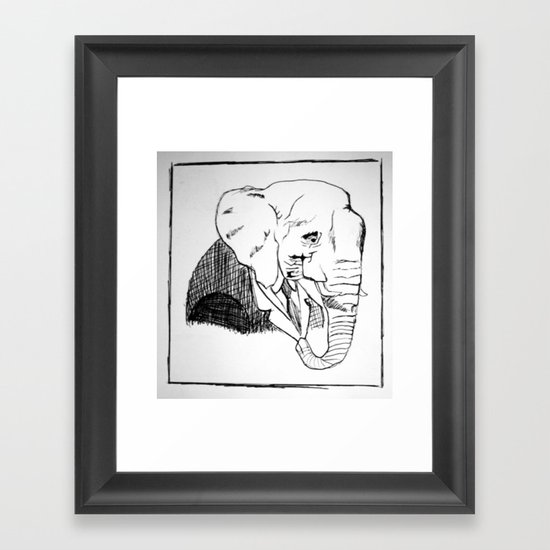 Pack you trunk  Framed Art Print