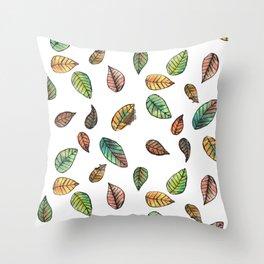 Colorado Autumn Throw Pillow