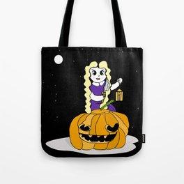 Halloween Pumkin Tote Bag