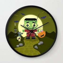 Frankie goes to Halloween Wall Clock