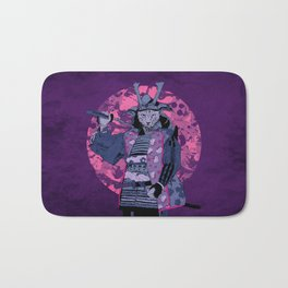 Samurai Kitty Bath Mat