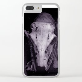 Animal Skulls Clear iPhone Case
