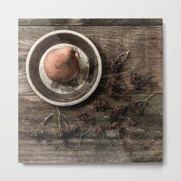 Bosc Pear 3 Metal Print