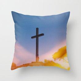 Benidorm Throw Pillow