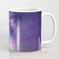 milky way Mugs featuring Milky Way by Lotus Effects