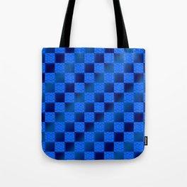 Funky Check (Waterworld) Tote Bag