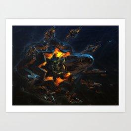 Matrix Sentinels r4 Art Print