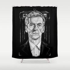 The 12th (Dark Variant) Shower Curtain