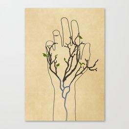 Handtree Canvas Print