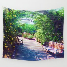 Rosy Bower Wall Tapestry