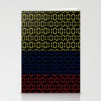 colombia Stationery Cards featuring digital Flag (Colombia) by seb mcnulty