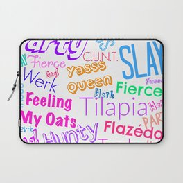 The Gay Thought Bubble Laptop Sleeve