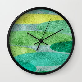Pond | Watercolour | Rain Wall Clock