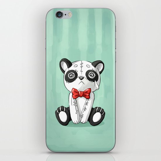 Panda Doll iPhone Skin