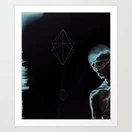 Contemplatio Art Print