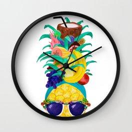 Chiquita Pineapple Wall Clock