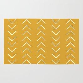 V / Yellow Rug