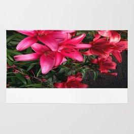 Lillies 3 Rug