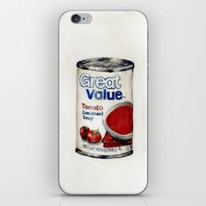 Great Value Tomato Soup iPhone & iPod Skin