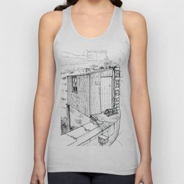 St Abbs Harbour Unisex Tank Top