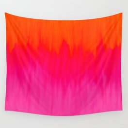 Bursting with Color Wall Tapestry