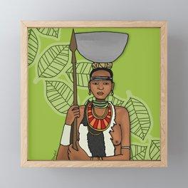 Tribal Framed Mini Art Print