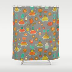 Pattern Project #4 / Esio Trot Shower Curtain